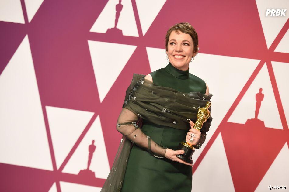 Olivia Colman gagnante aux Oscars 2019 le 24 février à Los Angeles