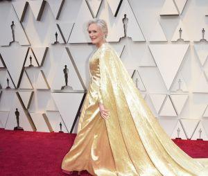 Glenn Close sur le tapis rouge des Oscars 2019 le 24 février à Los Angeles