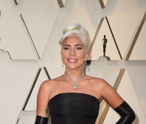 Lady Gaga sur le tapis rouge des Oscars 2019 le 24 février à Los Angeles