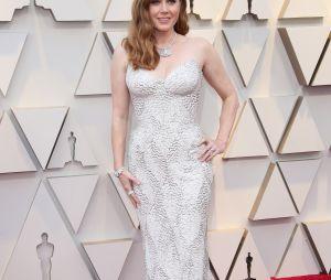 Amy Adams sur le tapis rouge des Oscars 2019 le 24 février à Los Angeles