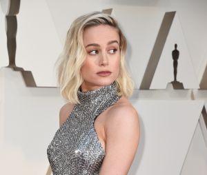 Brie Larson sur le tapis rouge des Oscars 2019 le 24 février à Los Angeles