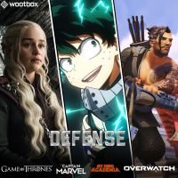 My Hero Academia, Captain Marvel, Game of Thrones... craquez pour la Wootbox Défense