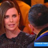 Charlize Theron choquée par Cyril Hanouna, elle le recadre en direct dans TPMP