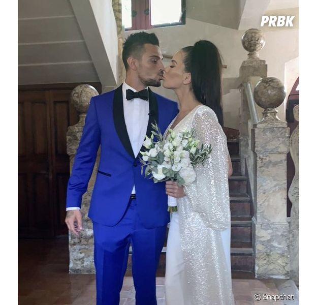Manon Marsault mariée à Julien Tanti  sa tenue ne fait pas l\u0027unanimité
