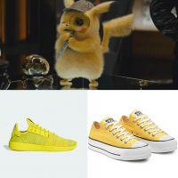 Pokémon Détective Pikachu : 5 paires de sneakers jaunes pour être de la même couleur que le héros