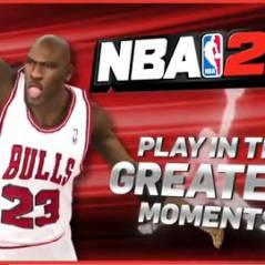 NBA 2K11 ... La carrière de Jordan dans le jeu et en vidéo