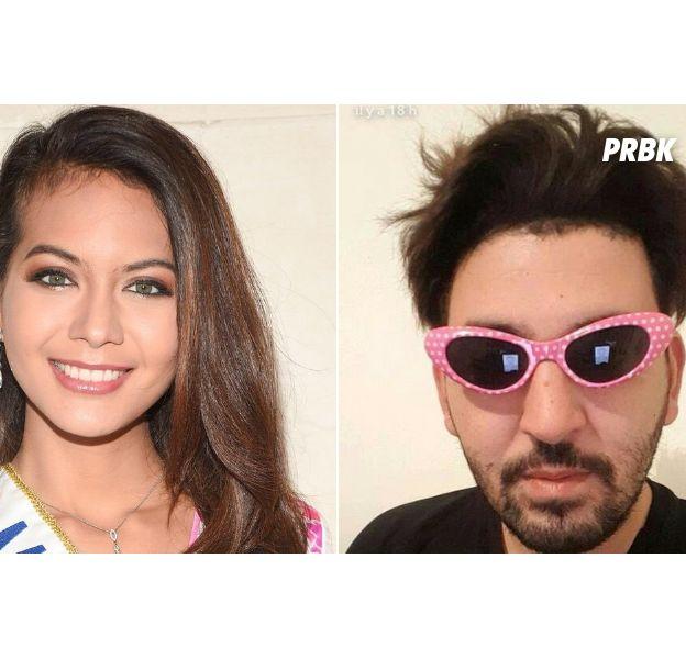 Vaimalama Chaves (Miss France 2019) réagit avec humour à la rumeur de couple avec Mohamed Henni
