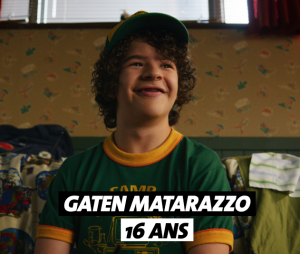 Stranger Things : l'âge de Gaten Matarazzo (Dustin)