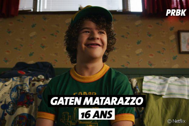Stranger Things : l'âge de Gaten Matarazzo (Dustin)