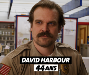 Stranger Things : l'âge de David Harbour (Hopper)
