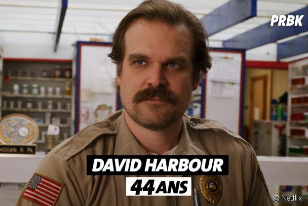 Stranger Things : l'âge de David Harbour (Hopper)