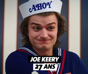 Stranger Things : l'âge de Joe Keery (Steve)