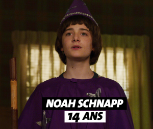 Stranger Things : l'âge de Noah Schnapp (Will)