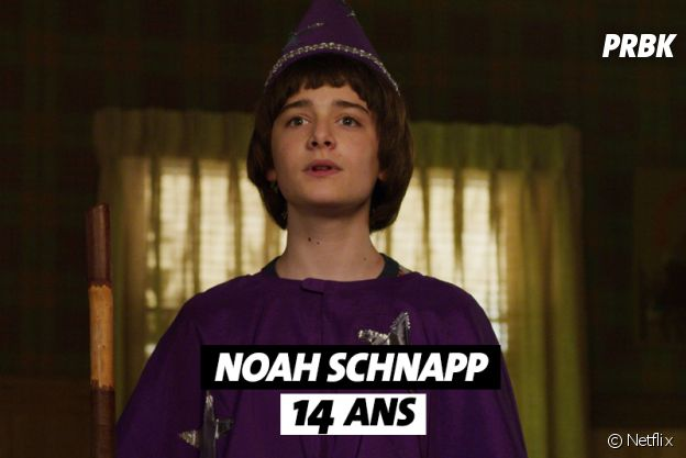 Stranger Things : l'âge de Noah Schnapp (Will)