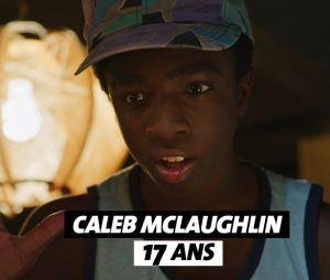 Stranger Things : l'âge de Caleb McLaughlin (Lucas)