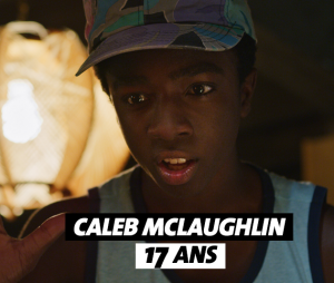 Stranger Things : l'âge de Caleb McLaughlin (Lucas)