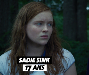 Stranger Things : l'âge de Sadie Sink (Max)