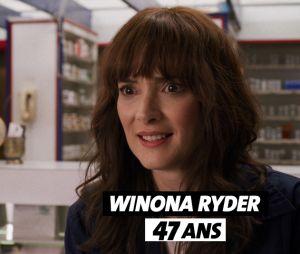Stranger Things : l'âge de Winona Ryder (Joyce)