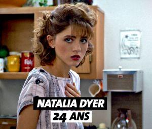 Stranger Things : l'âge de Natalia Dyer (Nancy)