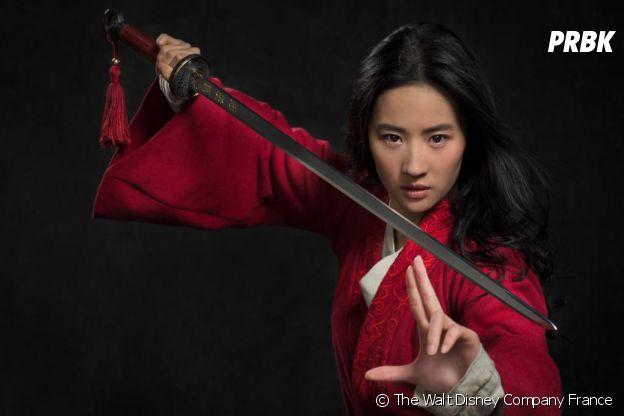 Mulan : Liu Yifei sur la première photo officielle du film