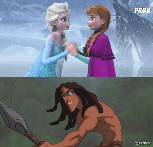 Anna et Elsa de La Reine des neiges ont-ils un lien avec Tarzan ?