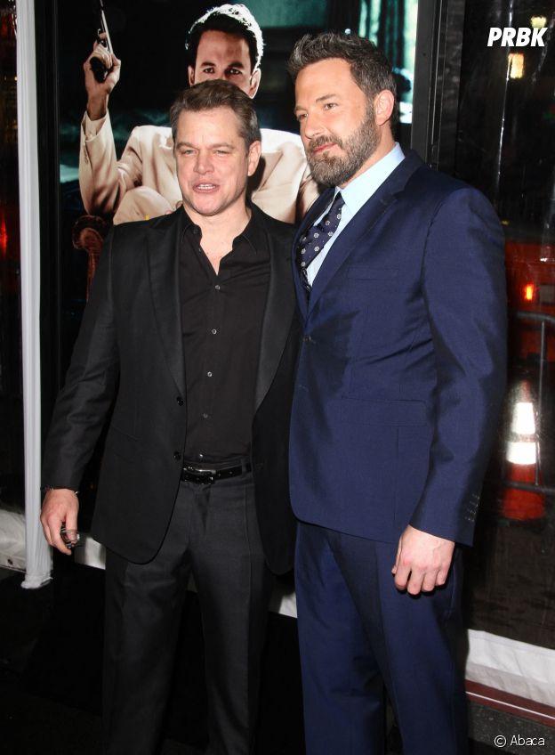 Matt Damon et Ben Affleck sont amis dans la vie