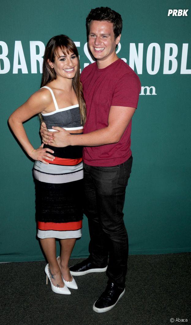 Lea Michele et Jonathan Groff sont amis dans la vie
