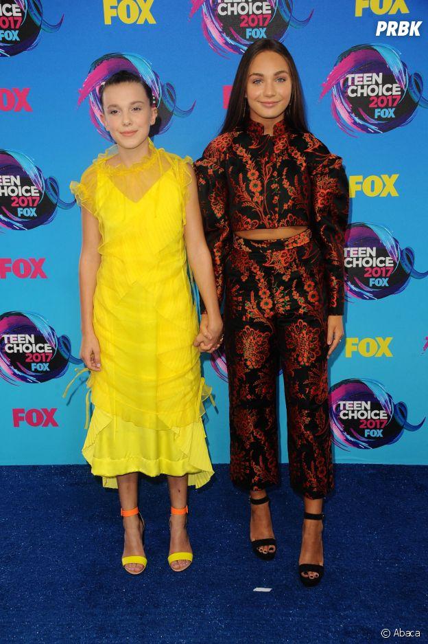 Millie Bobby Brown et Maddie Ziegler sont amies dans la vie