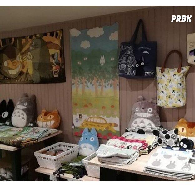 Le Studio Ghibli (Totoro, Le Tombeau des lucioles, Kiki la petite sorcière) ouvre une boutique éphémère à Paris