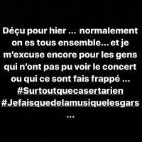 Jul réagit aux attaques de son concert à Paris, les ultra du PSG démentent toute implication