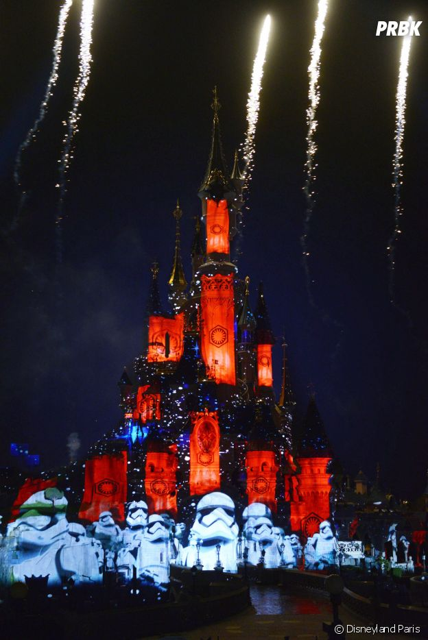 Star Wars Galactic Celebration, un spectacle son et lumièe à découvrir à Disneyland Paris