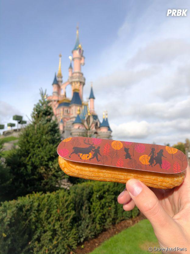 Un éclair La Reine des Neiges à dévorer à Disneyland Paris