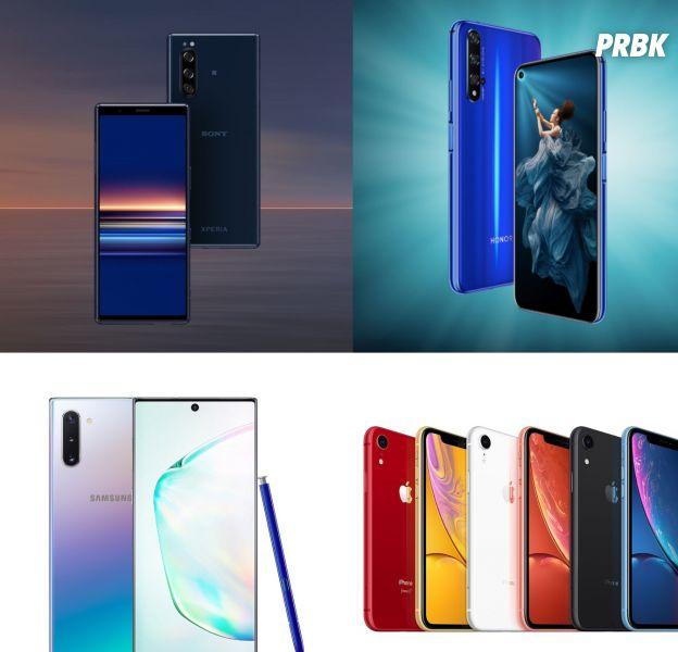 Noël 2019 : 4 smartphones pour tous les goûts et toutes les bourses