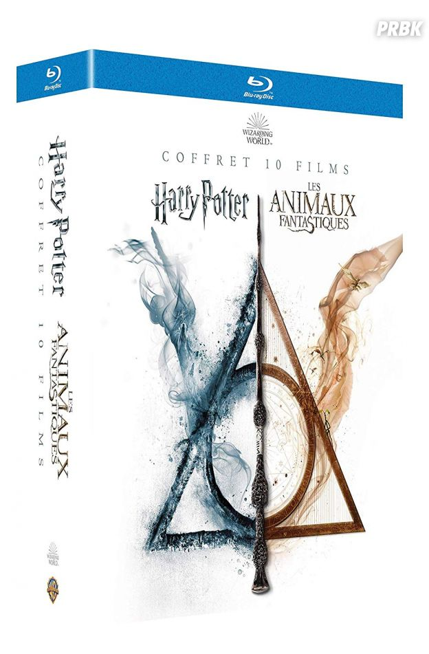 "Coffret Blu-ray ""Wizarding World"""