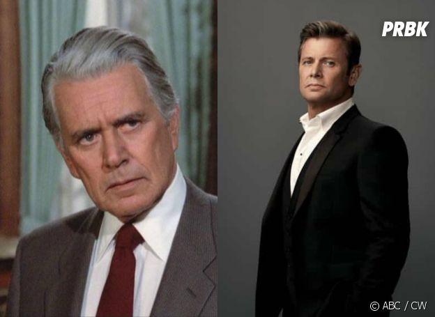 Dynastie : Blake Carrington dans la série originale vs dans le reboot