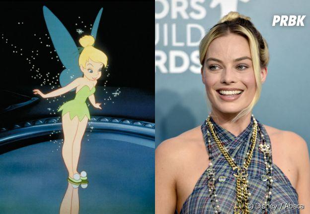 Margot Robbie va-t-elle jouer la Fée Clochette dans le remake de Peter Pan ?