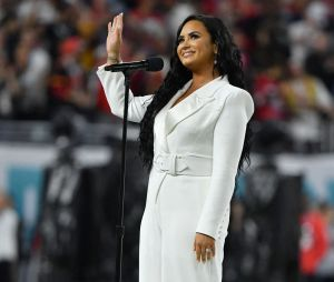 Super Bowl 2020 : Demi Lovato avait prédit qu'elle chanterait au Super Bowl, c'est chose faite