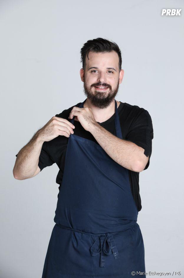 Top Chef 2020 : Adrien Cachot candidat de l'émission