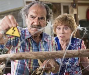 """Scènes de Ménages : Marion Game (Huguette) et Gérard Hernandez (Raymond) ne """"passent pas de vacances ensemble"""""""