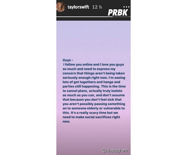 Confinement : Cyril Hanouna, Ariana Grande, Taylor Swift... les stars appellent à rester chez soi