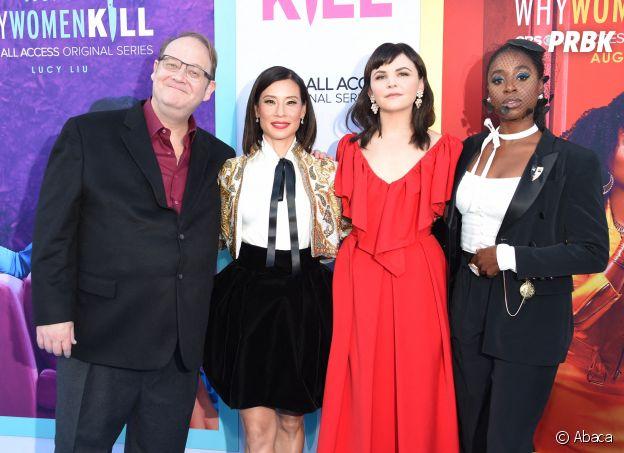 Marc Cherry et les actrices de Why Women Kill