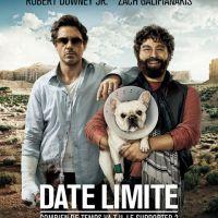 La sortie c'est aujourd'hui ... Date Limite avec Robert Downey Jr et Zach Galifianakis