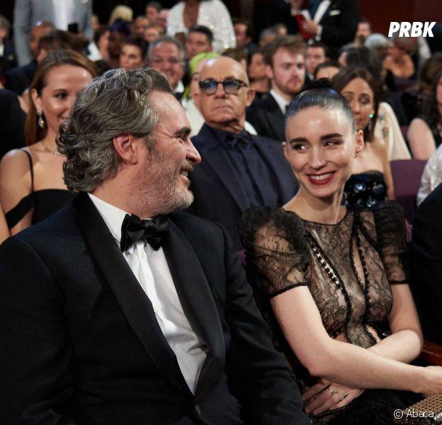 Joaquin Phoenix et Rooney Mara attendraient leur premier enfant