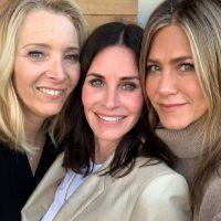 Jennifer Aniston, Lisa Kudrow et Courteney Cox jouent la carte Friends pour pousser à voter