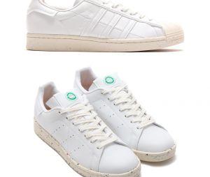 Les nouvelles sneakers Stan Smith et Superstar d'adidas eco-friendly