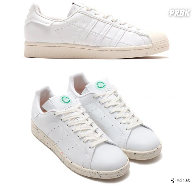 Les nouvelles sneakers Stan Smith et Superstar d'adidas eco-friendly