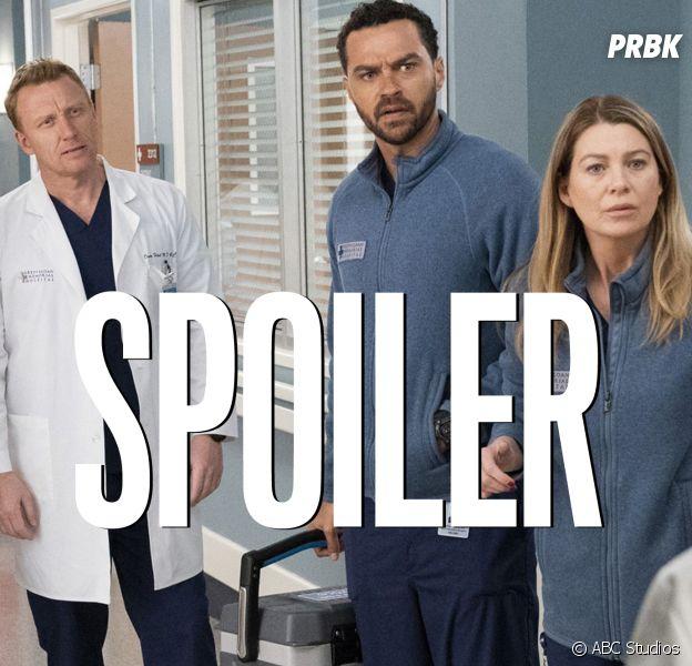 Grey's Anatomy saison 17 : une actrice quitte la série, grosse évolution pour 2 autres personnages