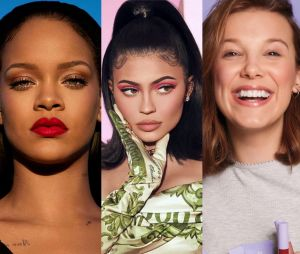 Rihanna, Kylie Jenner, Millie Bobby Brown... Ces stars qui ont lancé du maquillage cruelty free