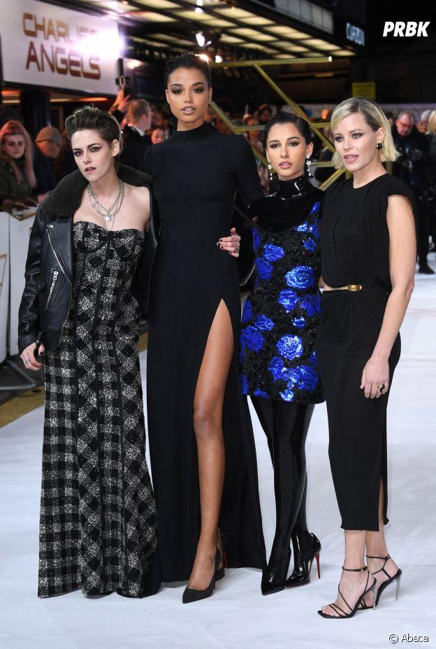 Elizabeth Banks avec les actrices de Charlie's Angels