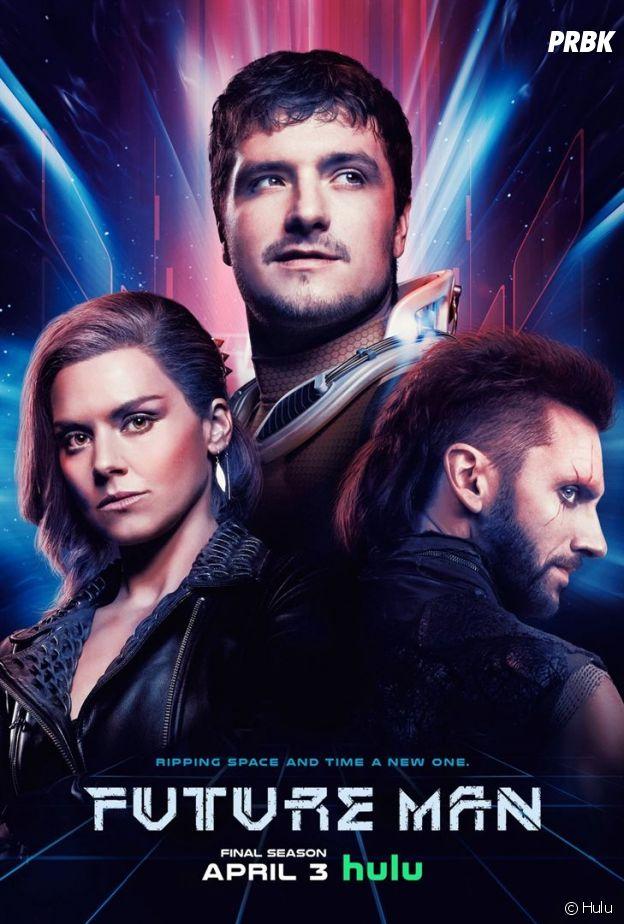 L'affiche de Future Man avec Josh Hutcherson
